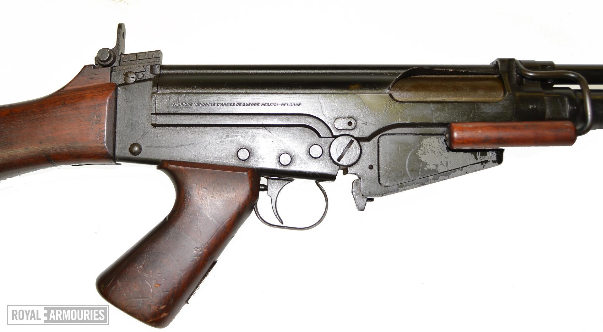 Centrefire automatic rifle FN X8E6 Experimental. Receiver markings RHS X.906