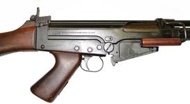 Thumbnail image of Centrefire automatic rifle FN X8E6 Experimental. Receiver markings RHS X.906