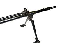 Thumbnail image of Centrefire automatic rifle FN X8E6 Experimental. Rifle, Shown is the Gas-Block assembly and the method of mounting the L4 series BREN Gun bipod X.906