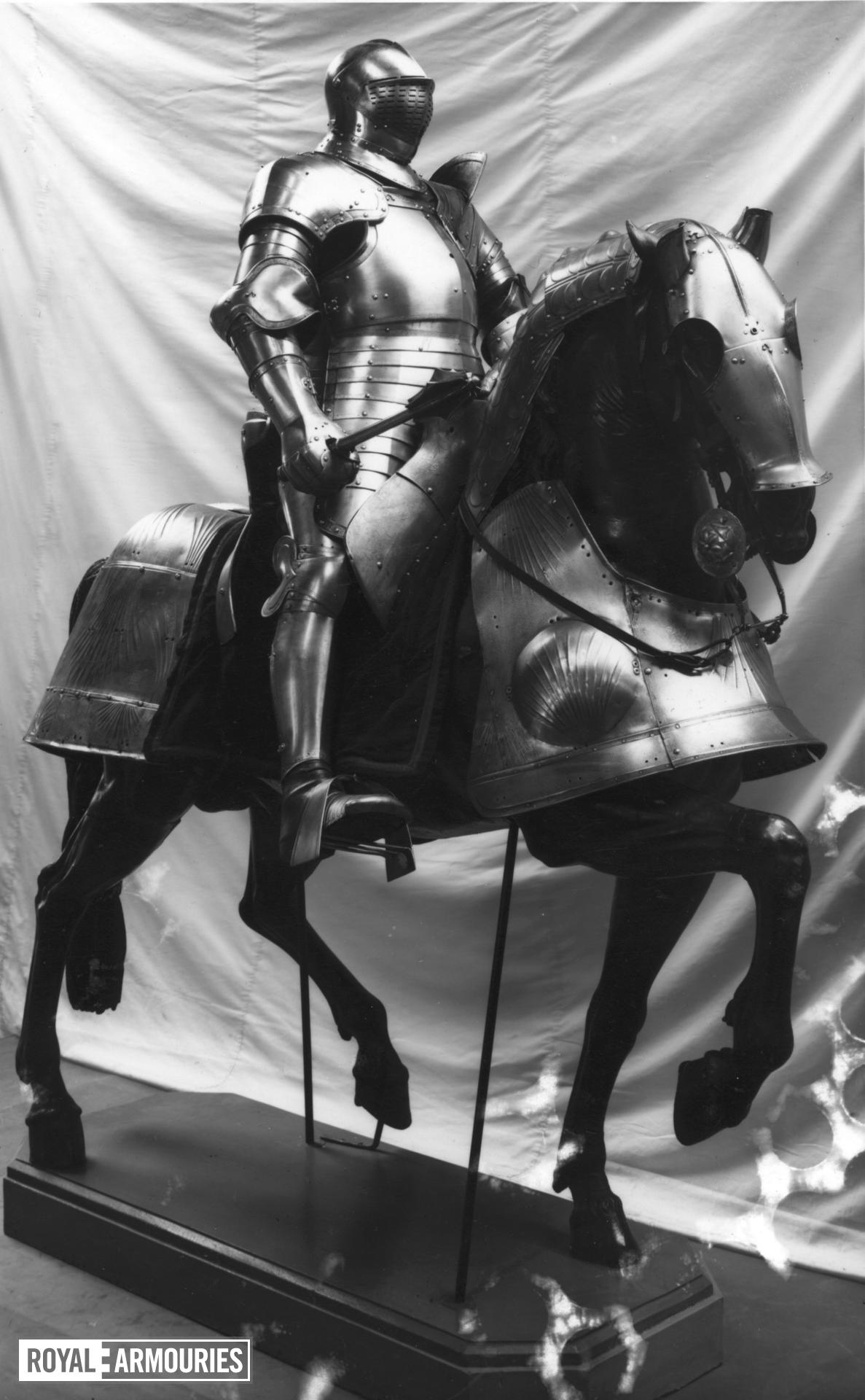 Armour for field and tournament of King Henry VIII