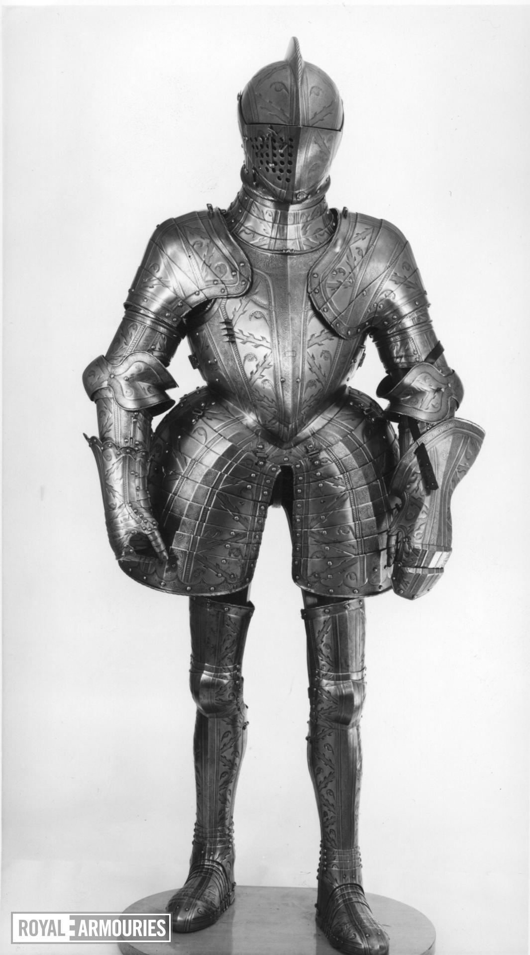 Field and tilt armour of Robert Dudley, Earl of Leicester
