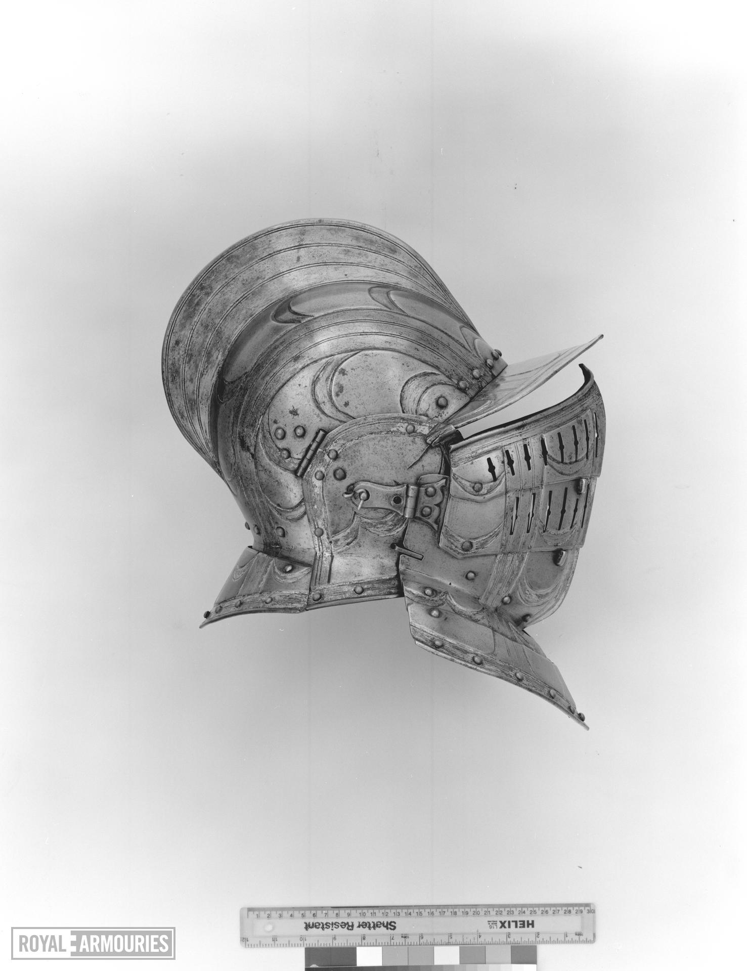 Half shaffron From the armour of William Somerset, Earl of Worcester, II.83.