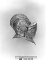 Thumbnail image of Half shaffron From the armour of William Somerset, Earl of Worcester, II.83.