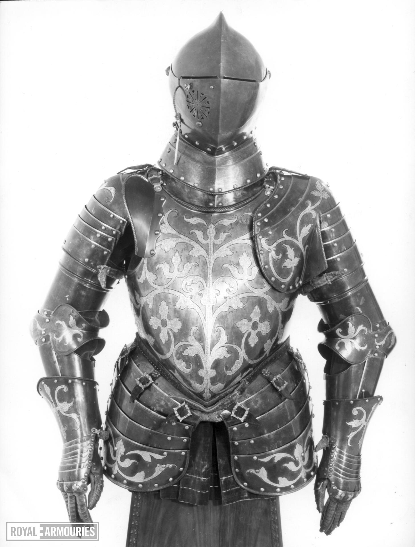 Lion armour - Lion armour Possibly of King Henri II of France.