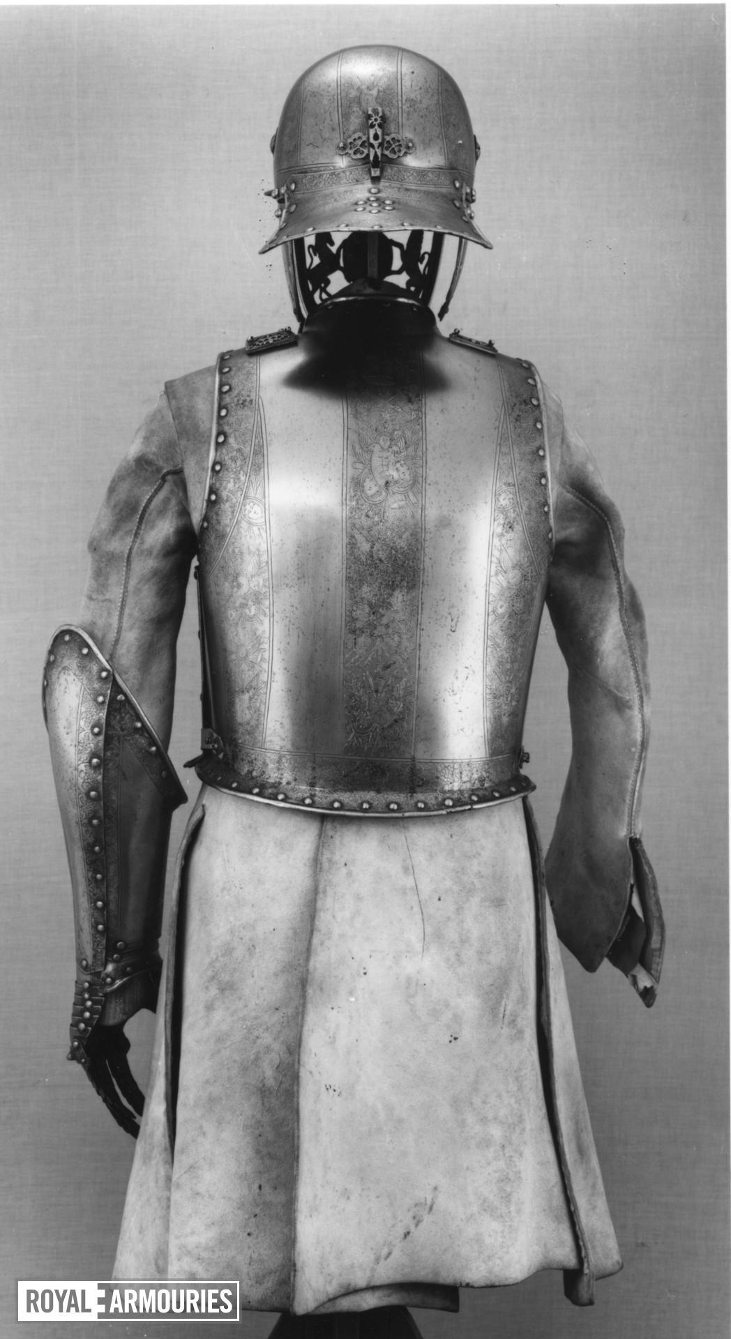 Armour - Armour of King James II of King James II (1633-1701) by Richard Hoden