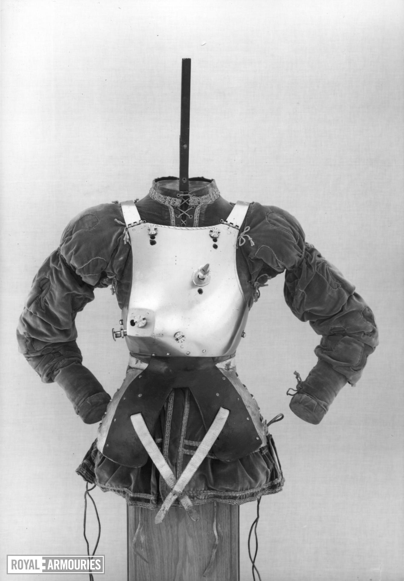 Rennzeug - Jousting Armour for the Scharfrennen