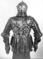 Thumbnail image of Foot combat armour of Christian I Elector of Saxony, by Anton Peffenhauser