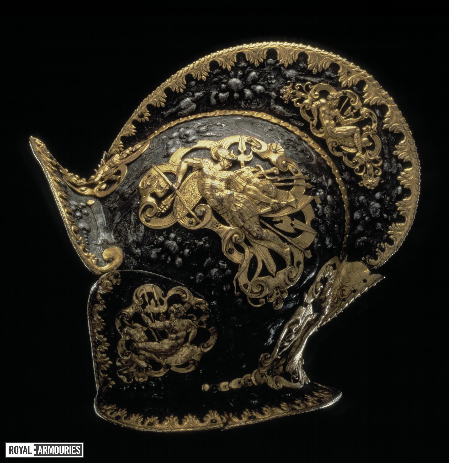 Burgonet. German, probably Augsburg, about 1600 IV.154