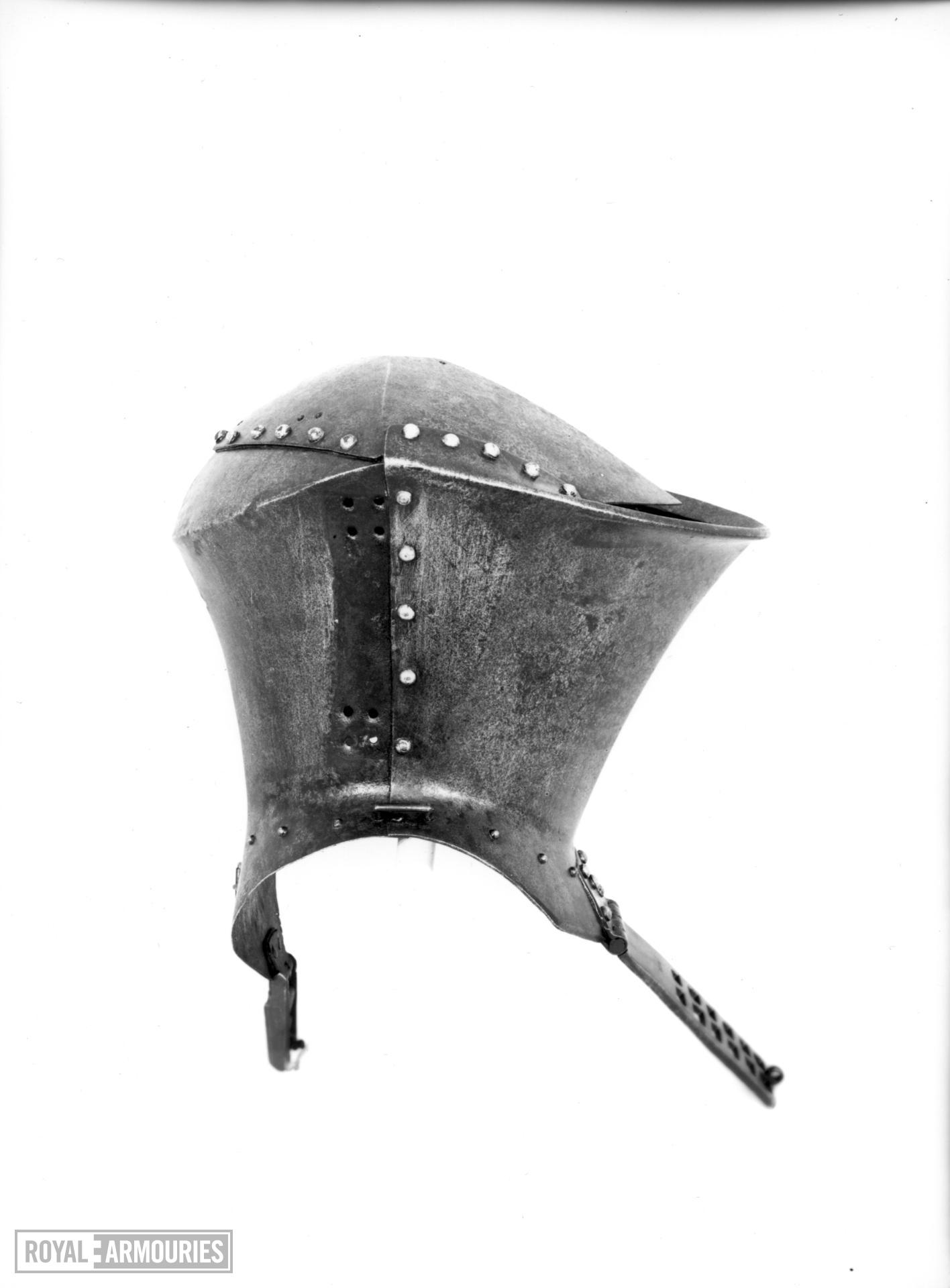 Jousting helm the Brocas helm, for the Gestech
