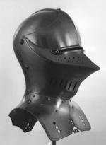 Thumbnail image of Tilting helm For the Welschrennen, probably by Kolman Helmschmid