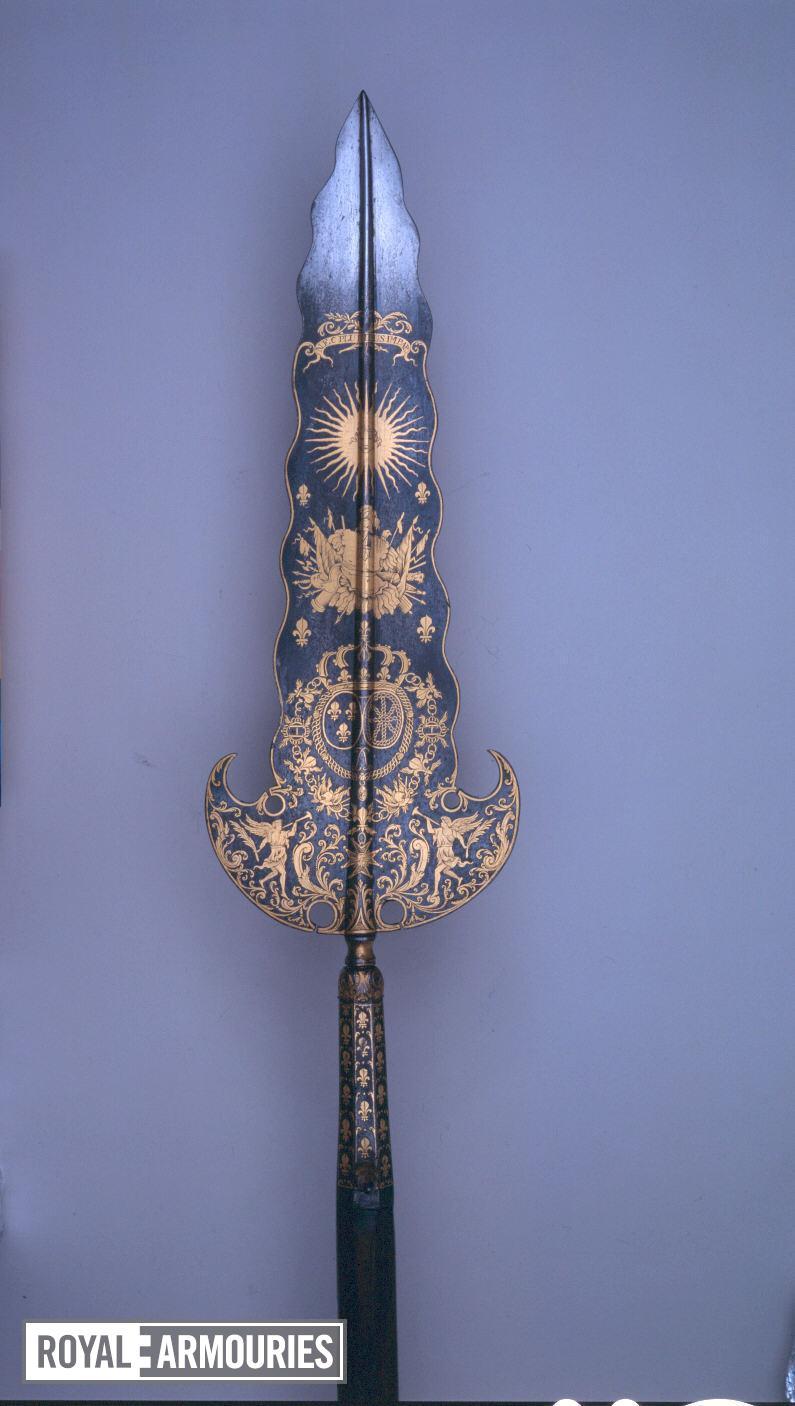 Partizan - Staff Weapon Partizan of the Gardes du Corps of Louis XIV