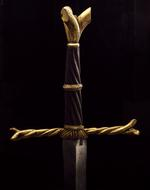 Thumbnail image of Sword - Writhen Hilted Sword Sword of Oakeshott type XVIIIa (1981); type XVIII or XVIIIa (1991)