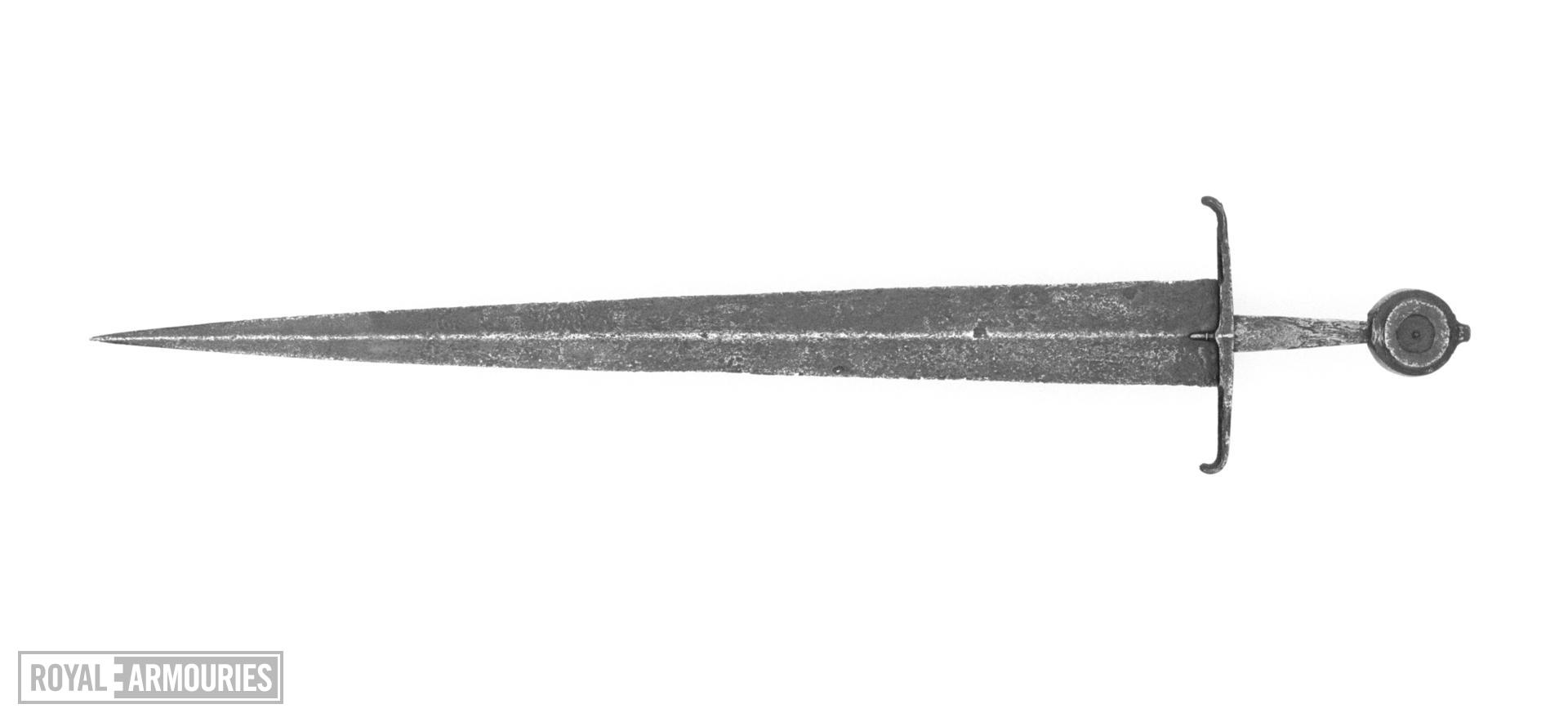 Sword. Possibly English, mid 15th century (IX.3683)