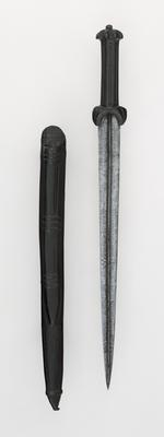 Thumbnail image of Dagger and sheath Dudgeon dagger and sheath