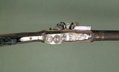Thumbnail image of Flintlock muzzleloading gun - By Nicholas Noel Boutet Of exceptional quality.