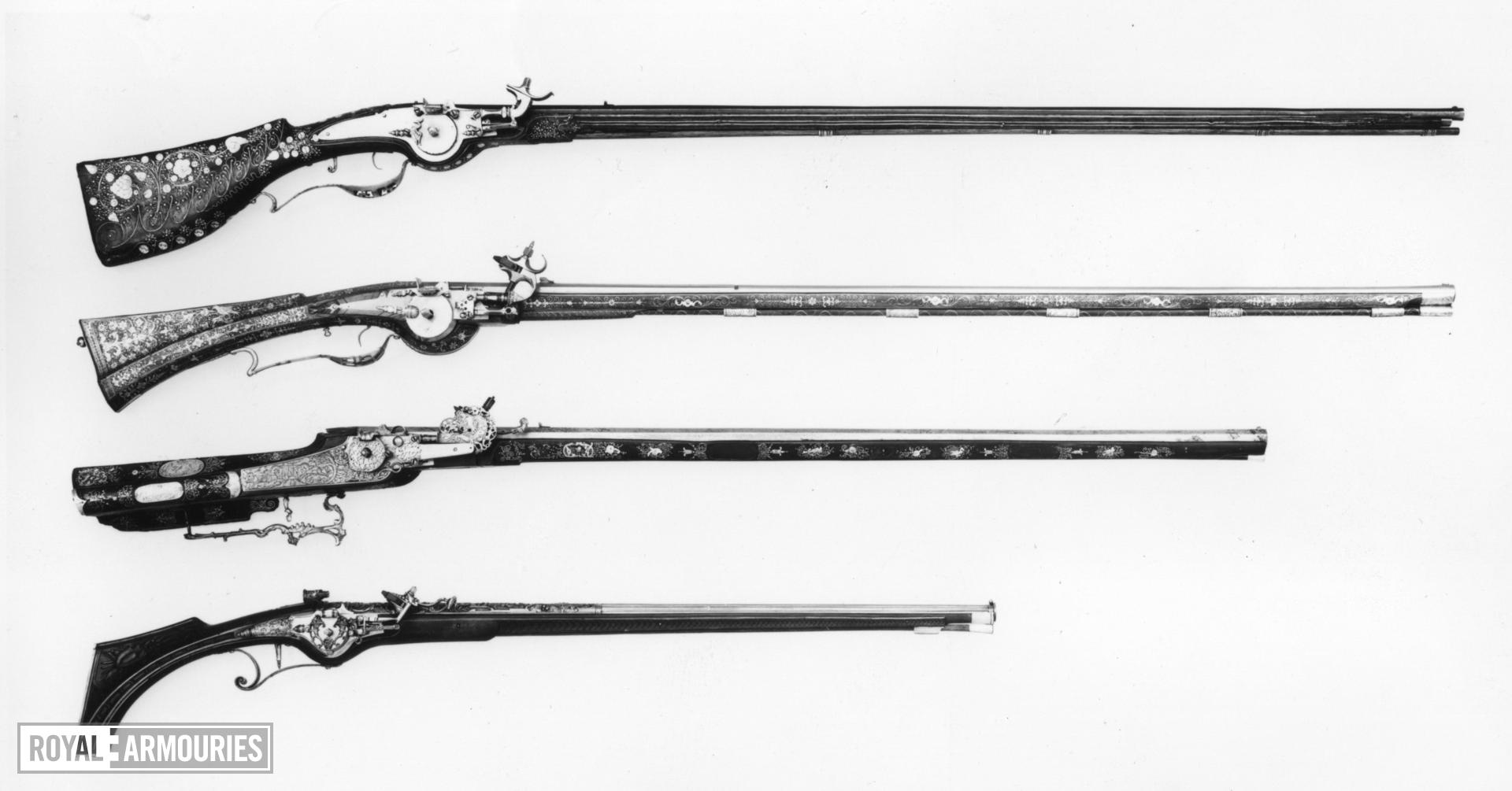 Wheellock sporting gun - By Nicolas Kevcks