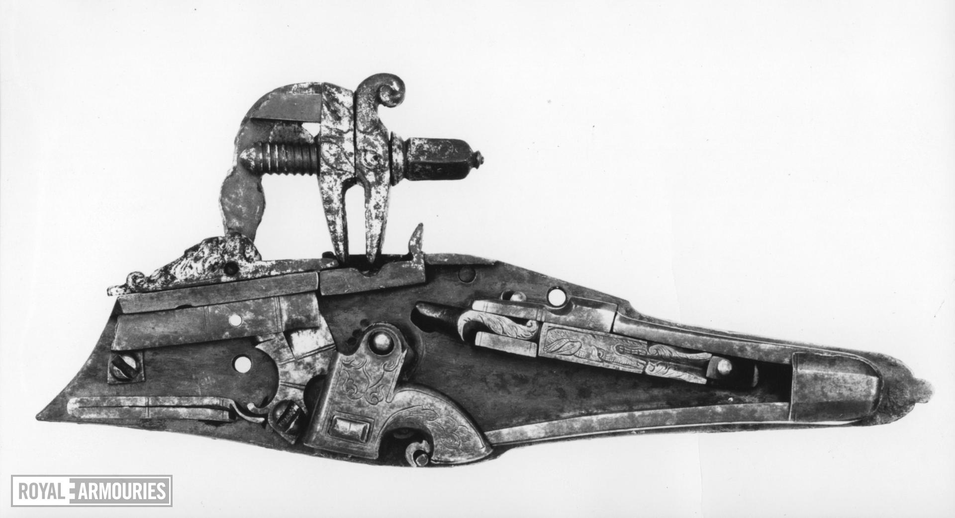 Wheellock pistol - 'Forget-me-not' Known as the 'Forget-me-not' pistol.