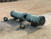 Thumbnail image of Gun - The Great Turkish Bombard Great bronze gun also known as the 'Dardanelles gun'.