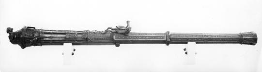 Thumbnail image of 1.7 in gun Made of bronze Cast by Maistre Denis