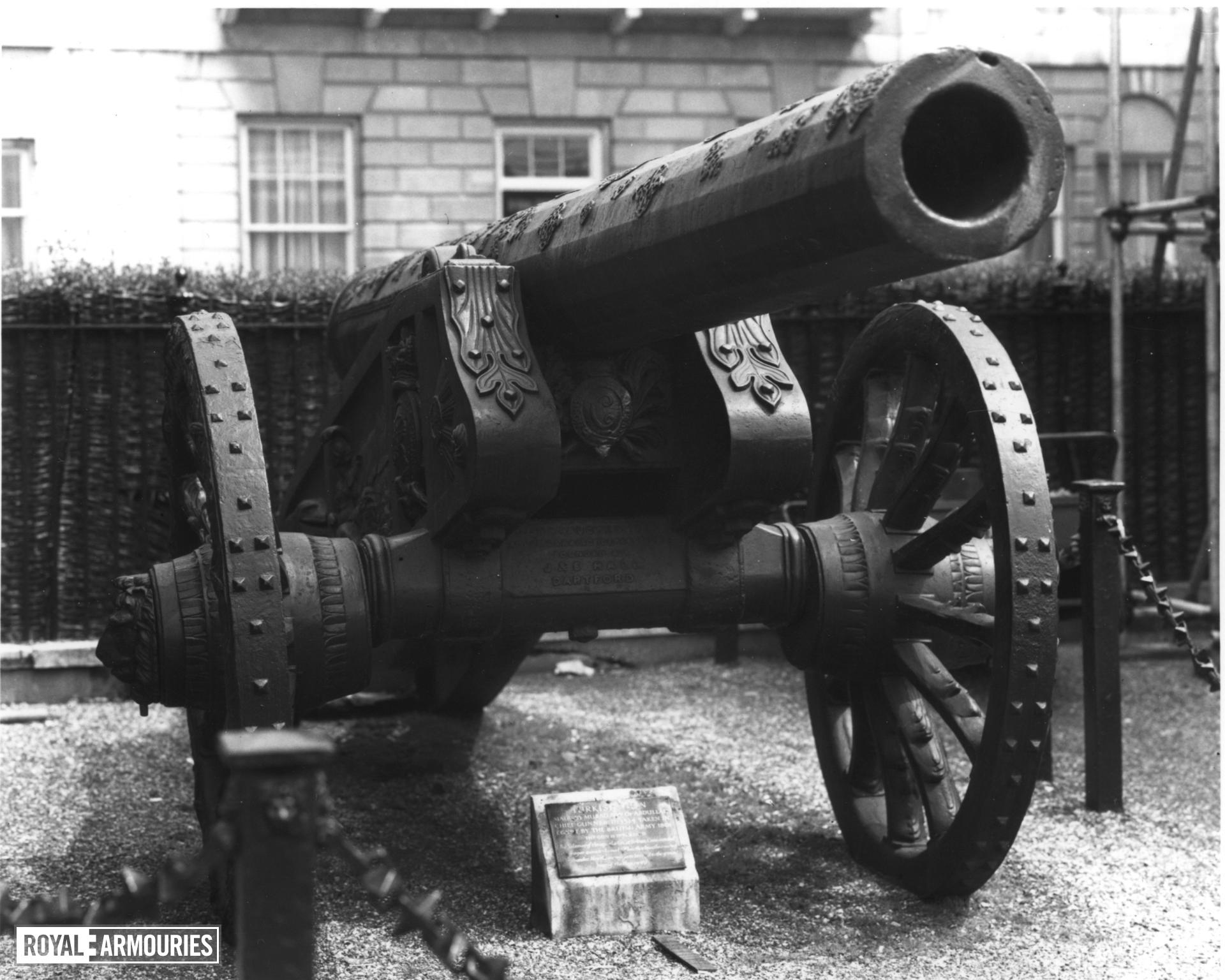 52 pr gun and carriage