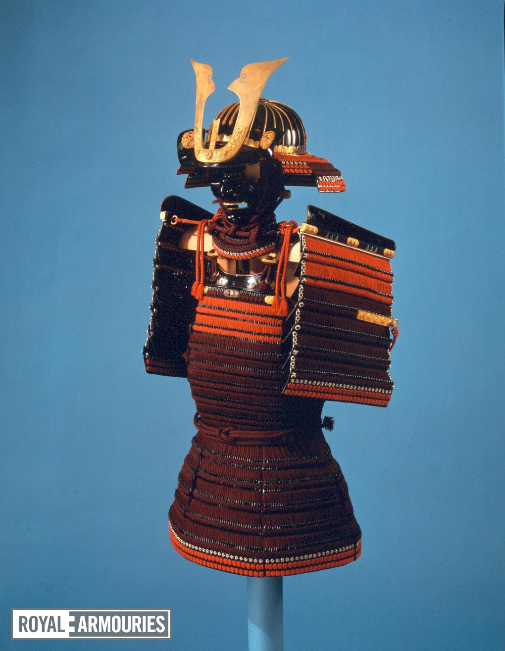 Helmet (kabuto) - Kabuto Presented to King James I by Tokugawa Hidetada by Iwai Yozaemon.