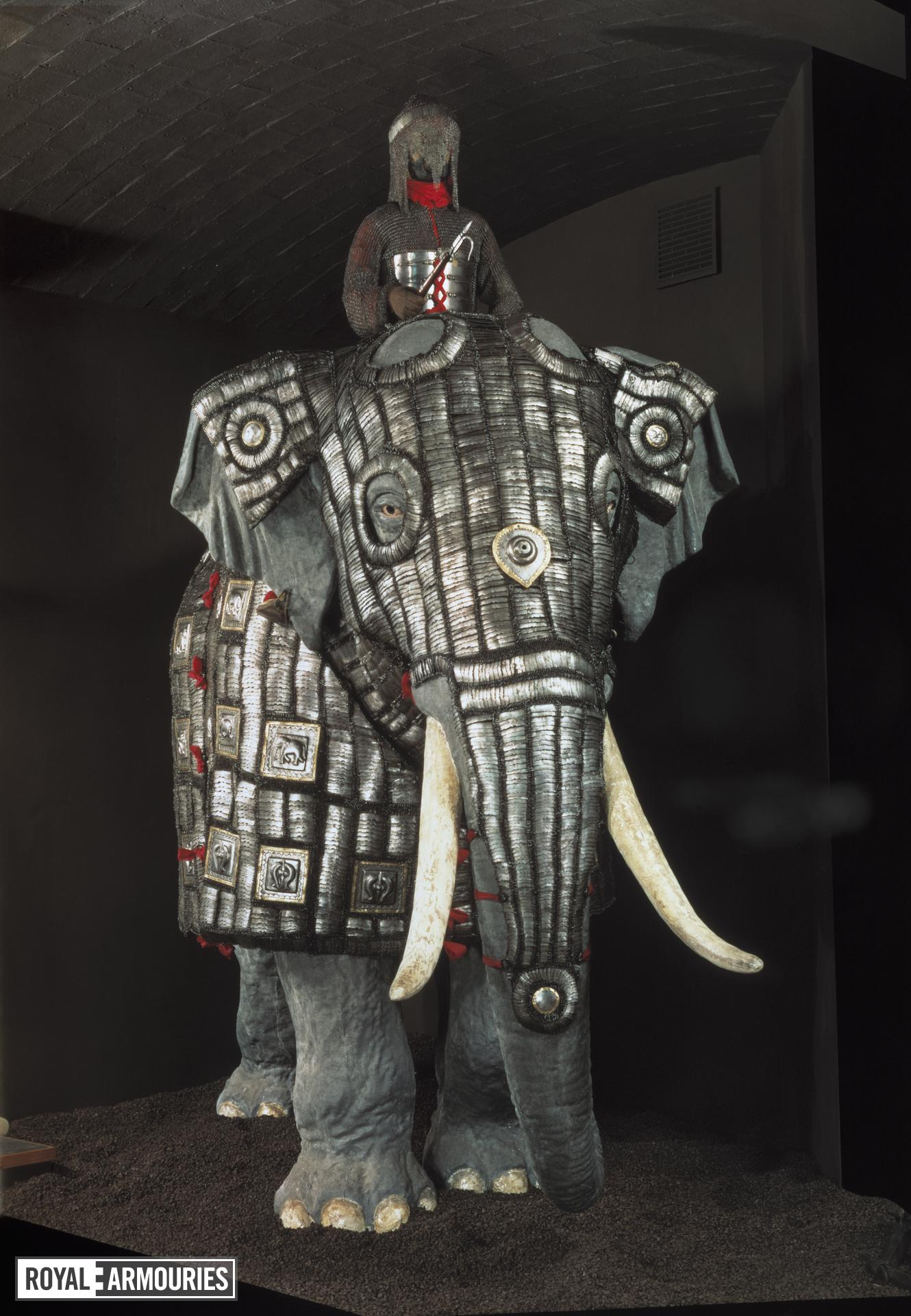 Elephant armour (bargustavan-i-pil)