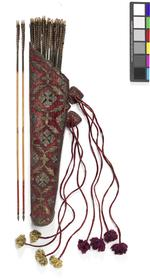 Thumbnail image of Quiver with silver embroidery