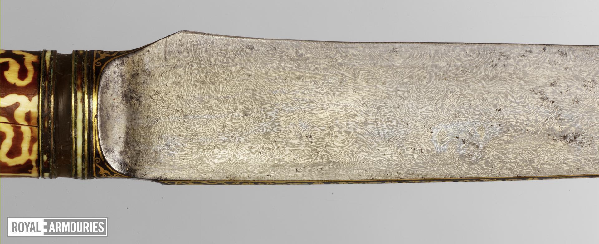 Dagger (kard) By Muhammad Baqir.