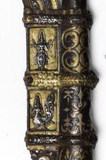 Thumbnail image of Elephant goad (ankus) with lacquered haft