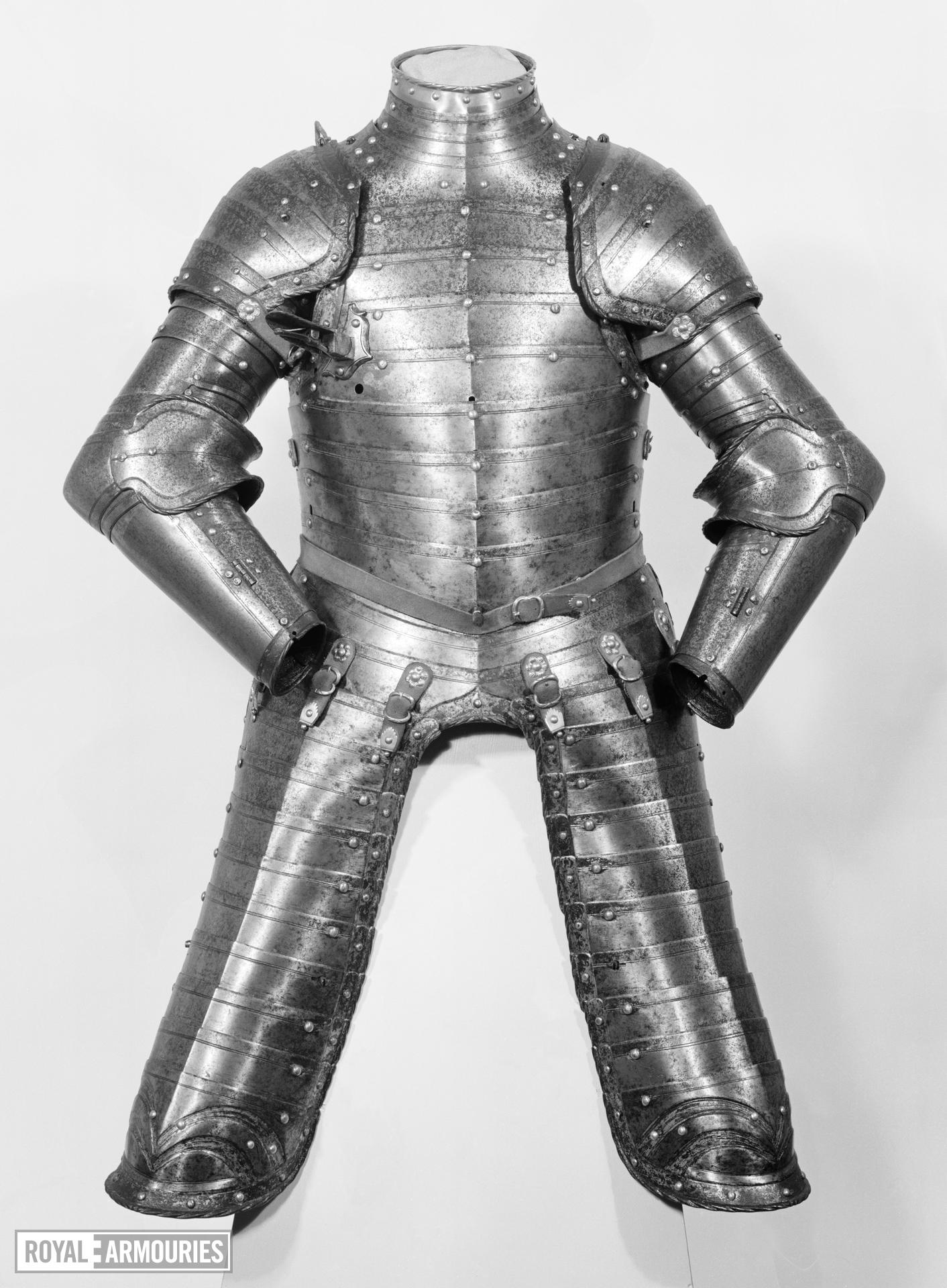 Three-quarter armour for a boy of about twelve years old, possibly Edward VI