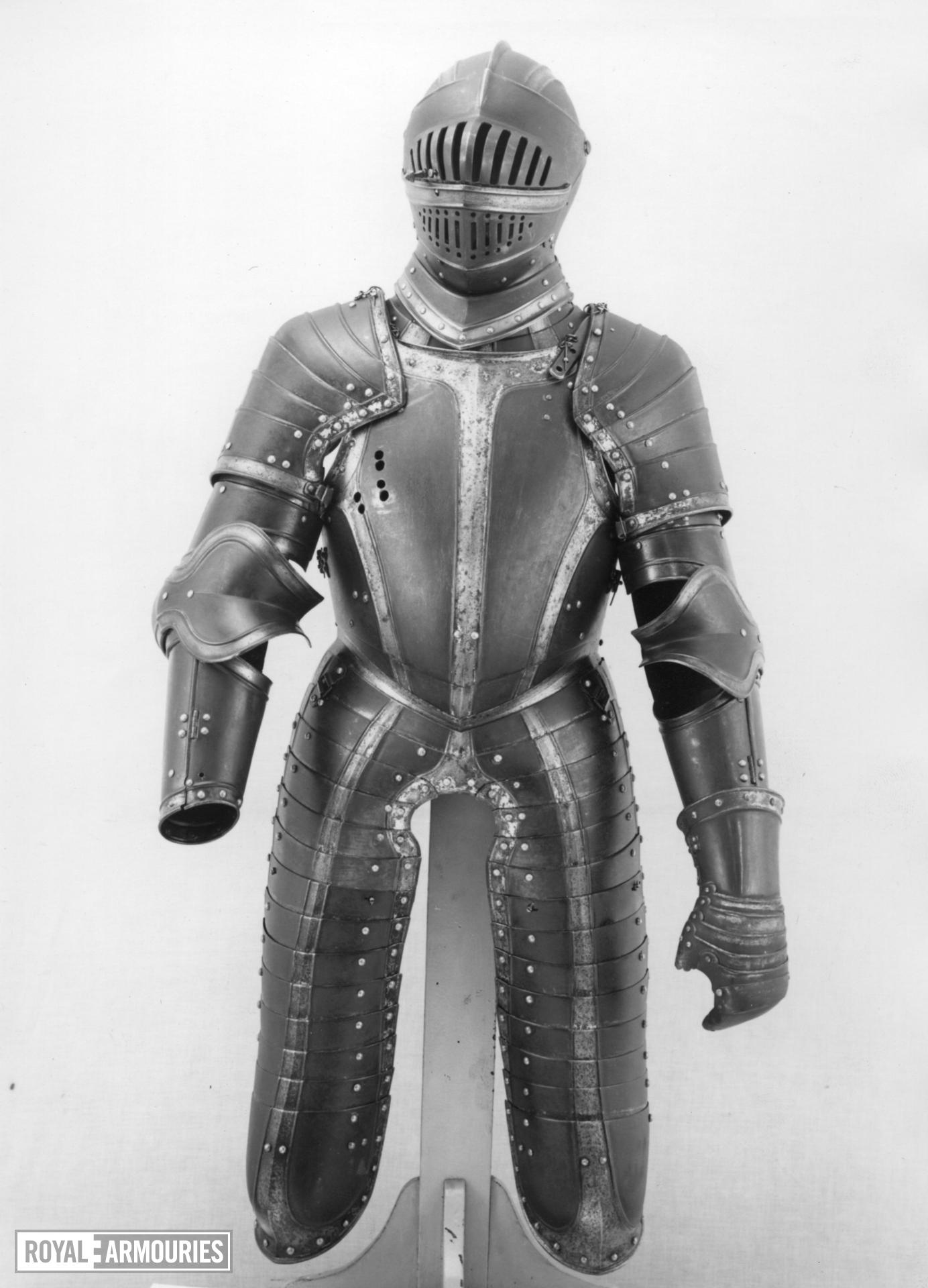 Breastplate Part of II.137, three quarter armour