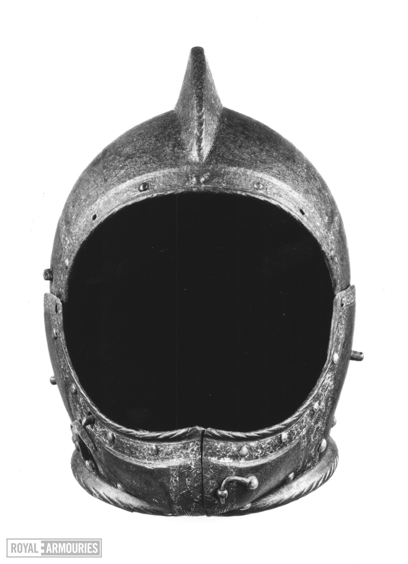Armet Probably for Peregrine Bertie, Lord Willoughby d'Eresby