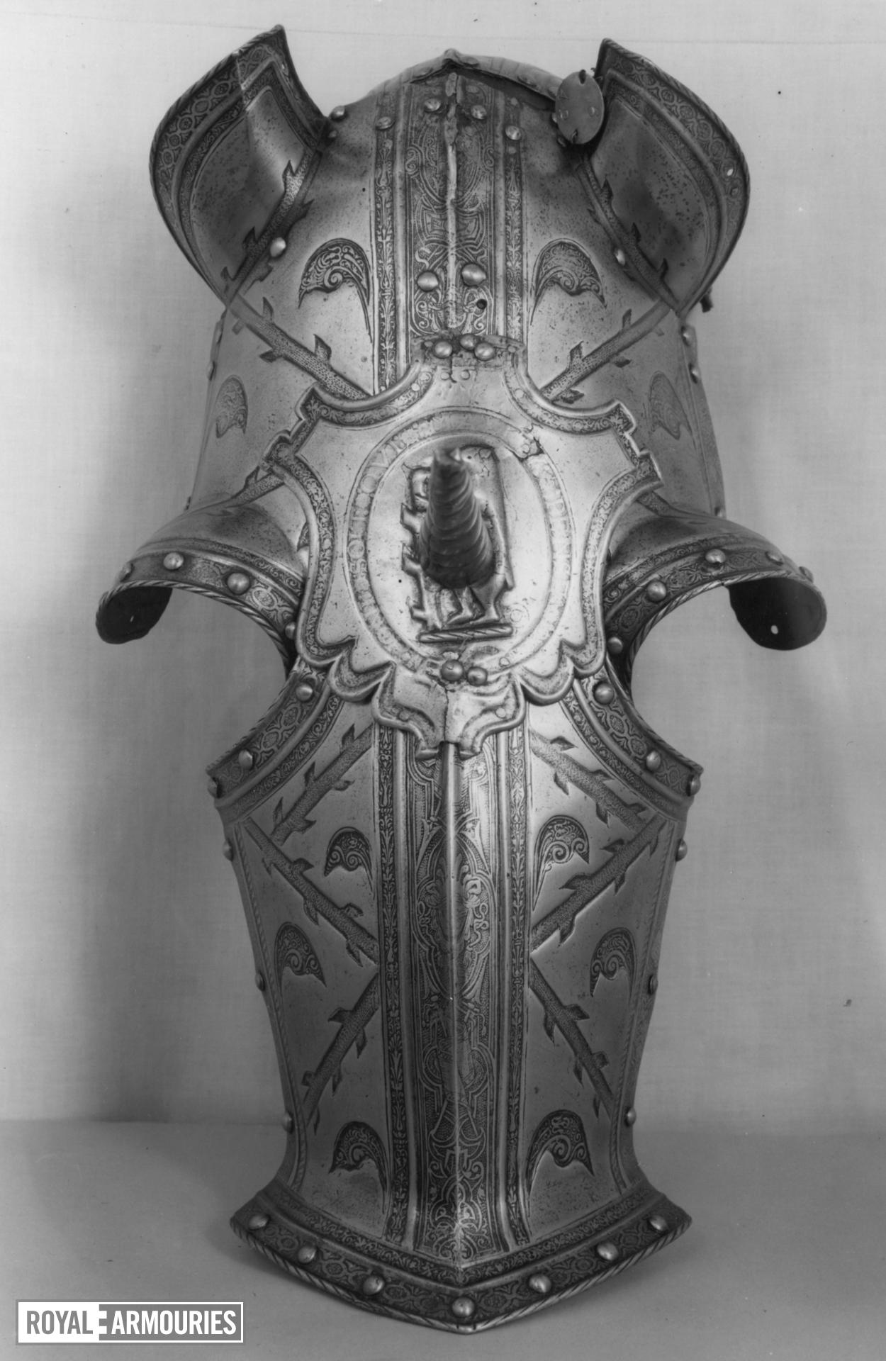 Shaffron From the armour of Robert Dudley, Earl of Leicester, II.81.