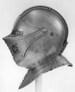 Thumbnail image of Close helmet Part of armour II.363, possibly for Charles II