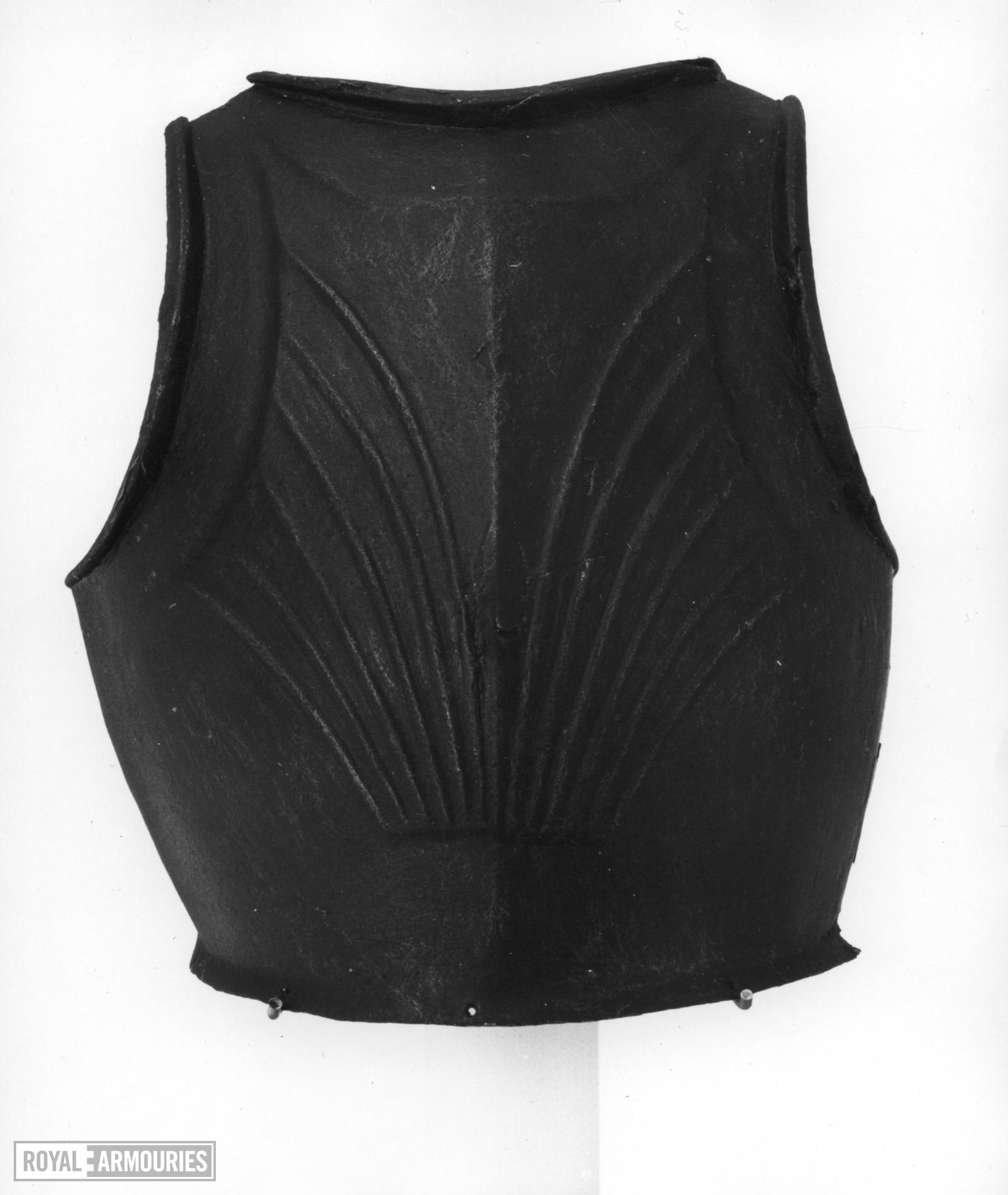 Breastplate For light cavalry or foot service