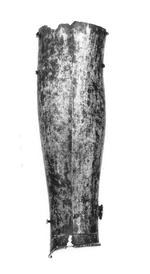Thumbnail image of Greave (incomplete) Front section of a greave