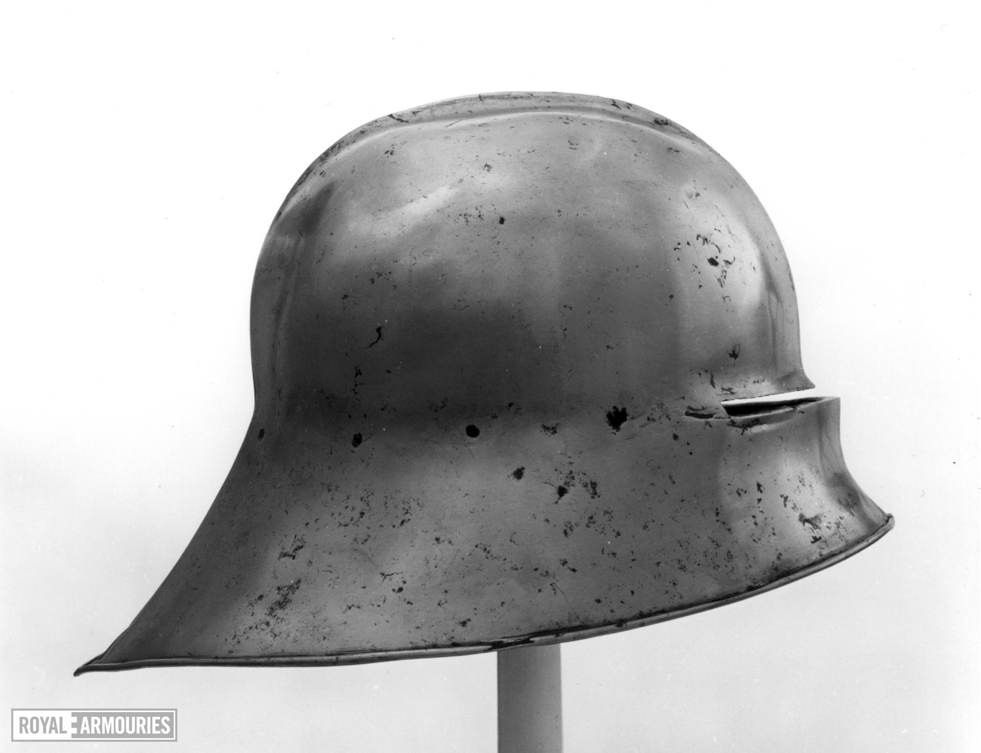 Sallet Sallet of c.1480 with short deep tail by Christian Treytz