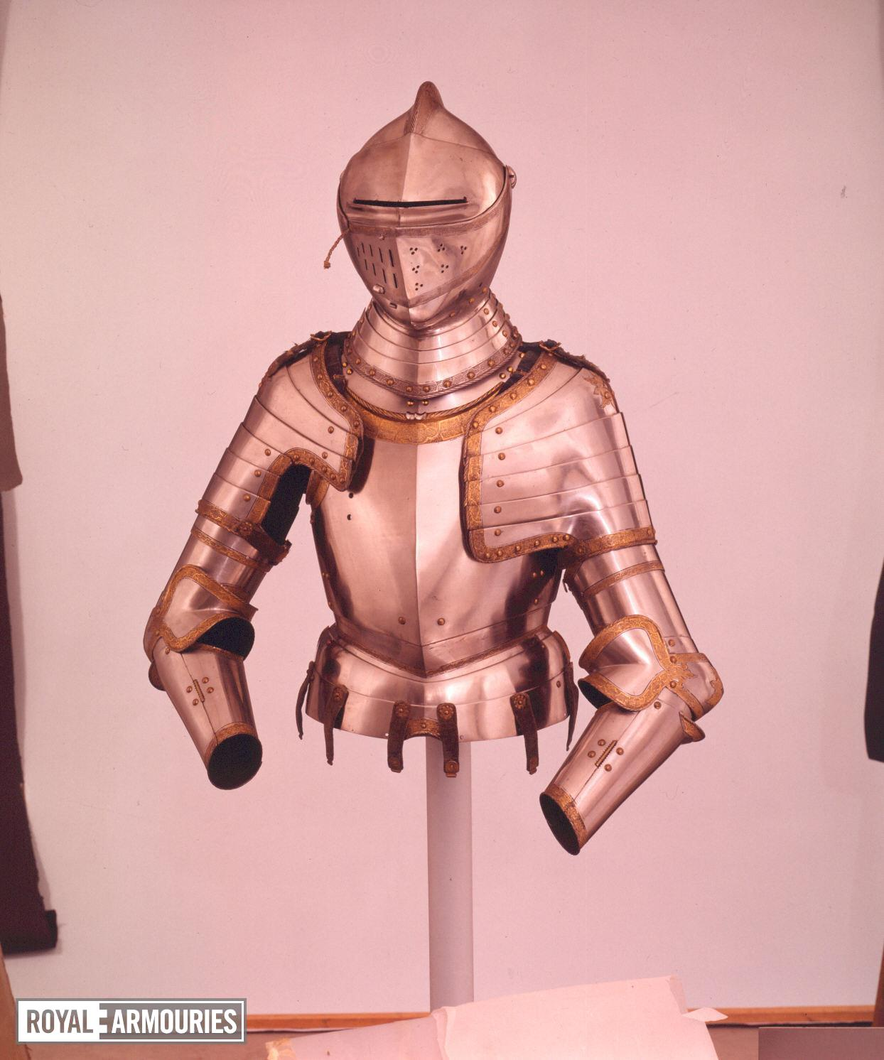 Portions of an armour