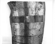 Thumbnail image of Half armour Black and white