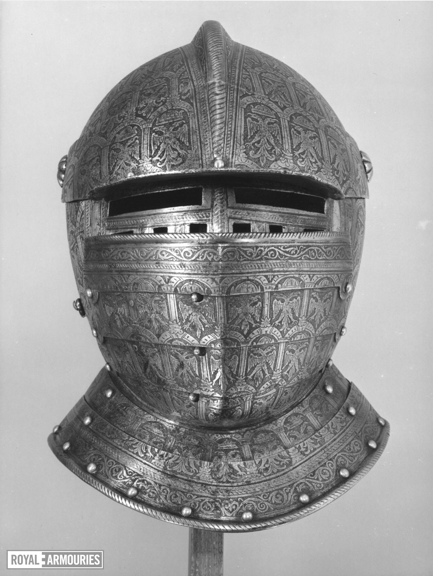 Demilance armour of Count Annibale Capodilista