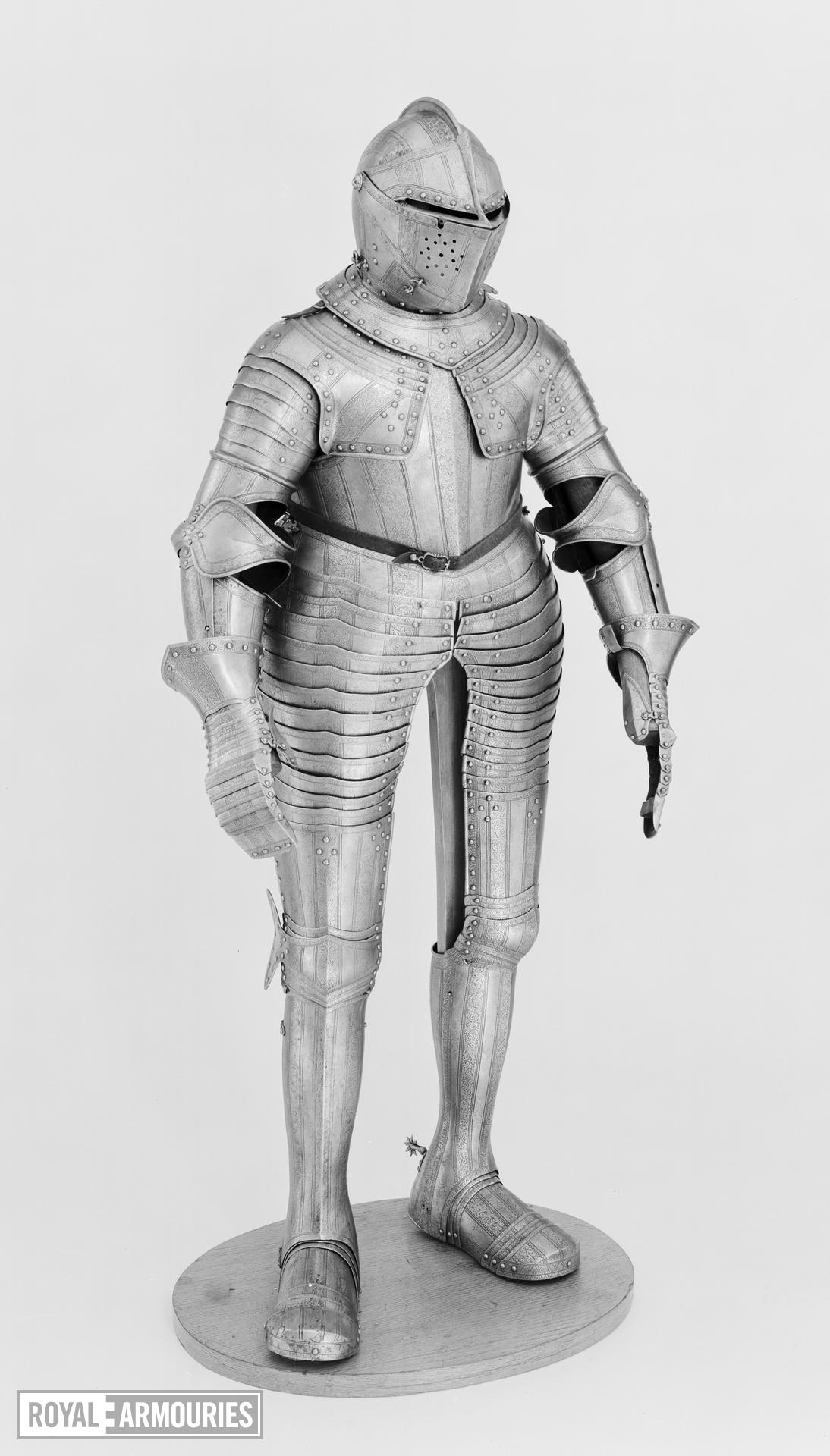 Cuirassier armour presented to Japan by the VOIC