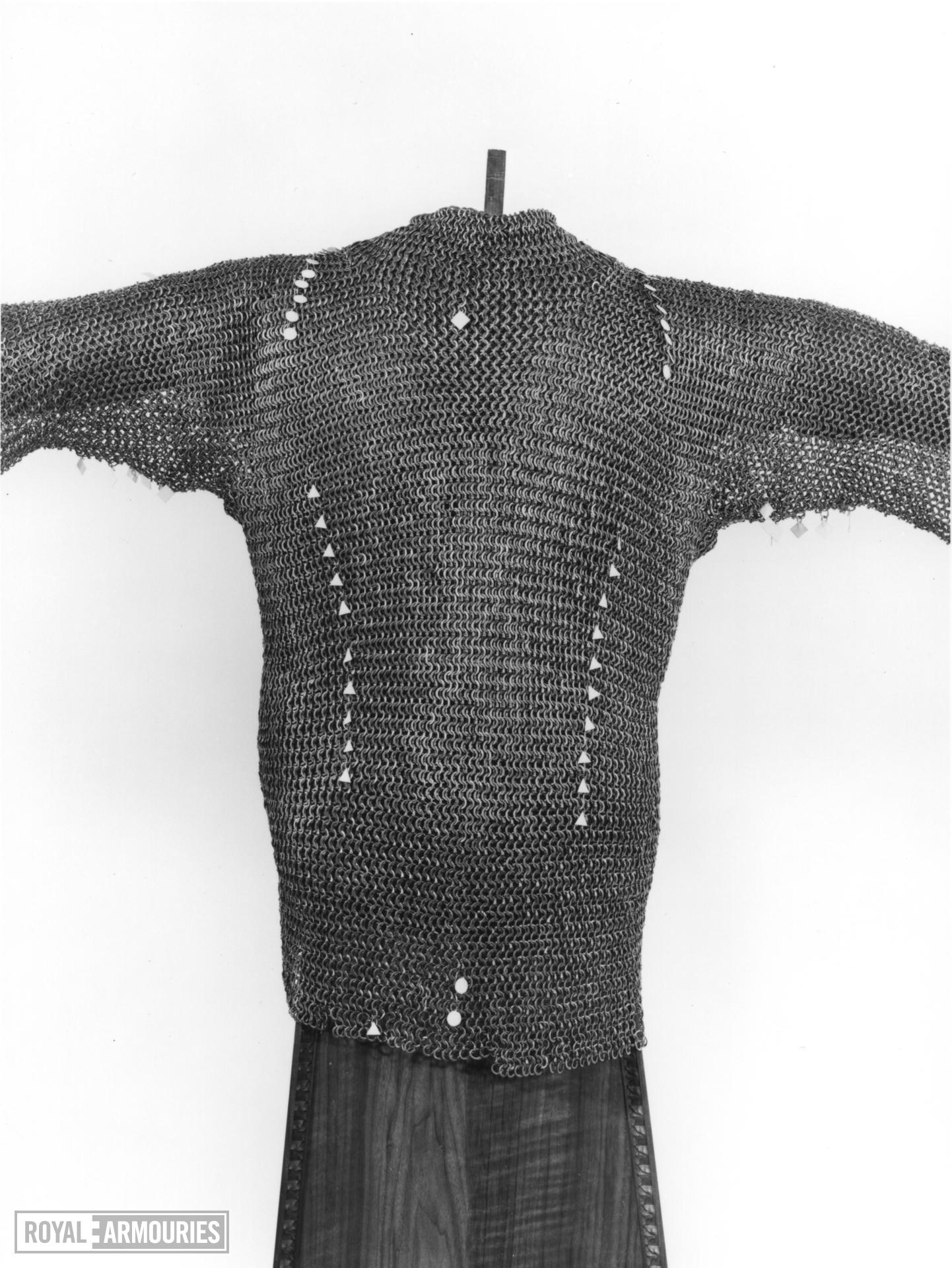 Mail shirt Traditionally of Rudolph IV of Hapsburg, Duke of Austria, Carinthia and Ferrette (1339-1365)