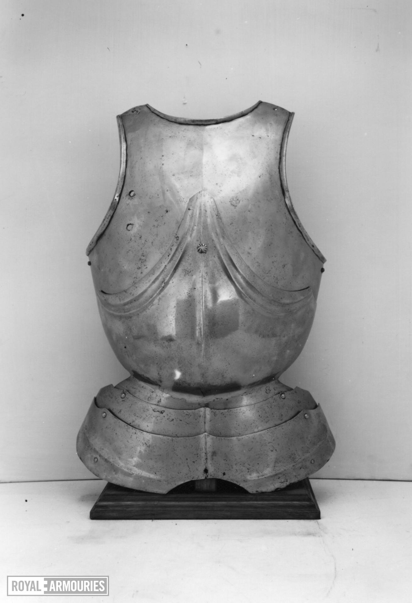 Breastplate Of Gothic form.