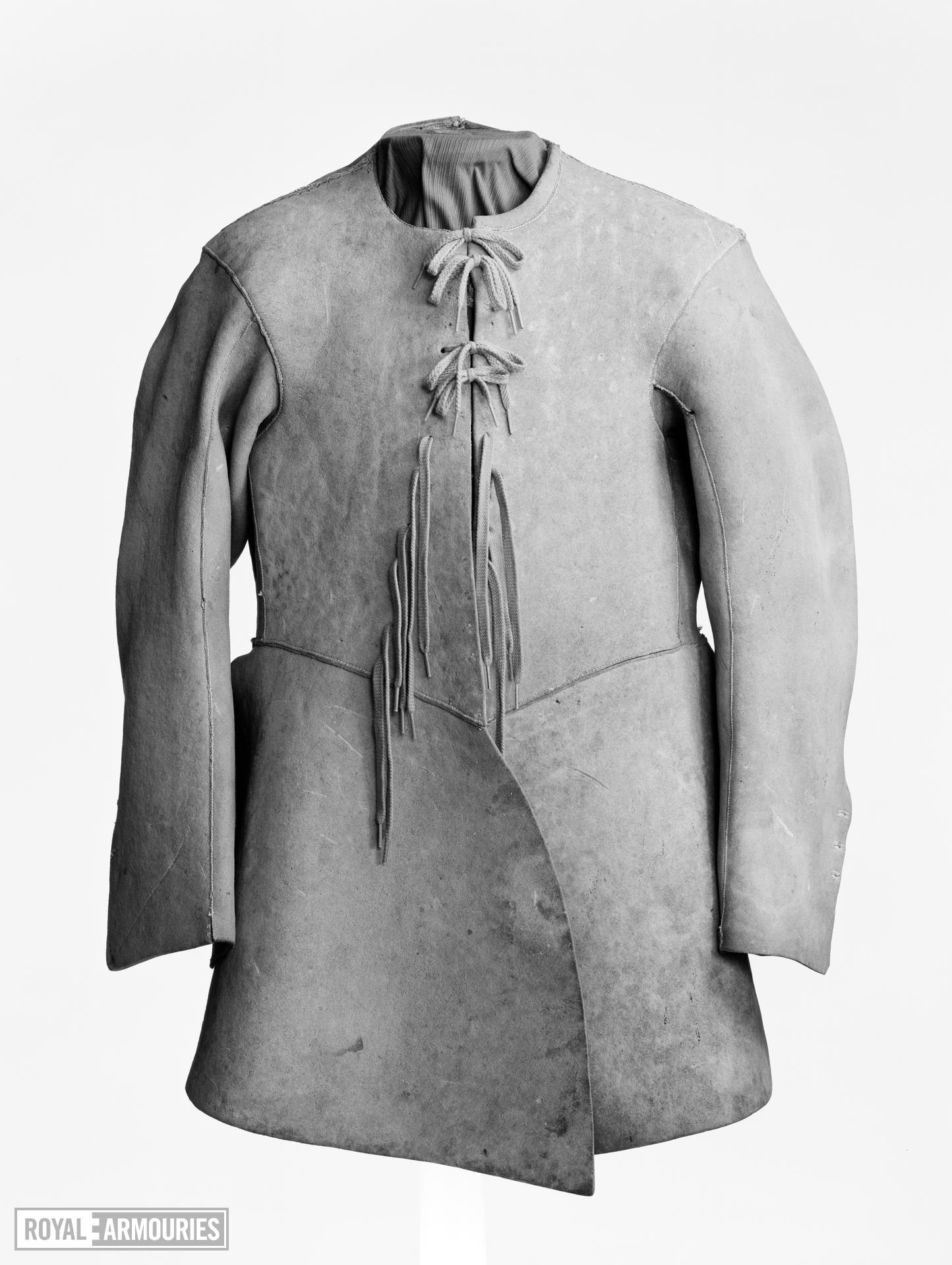 Buff coat Probably owned by Colonel Francis Hacker.