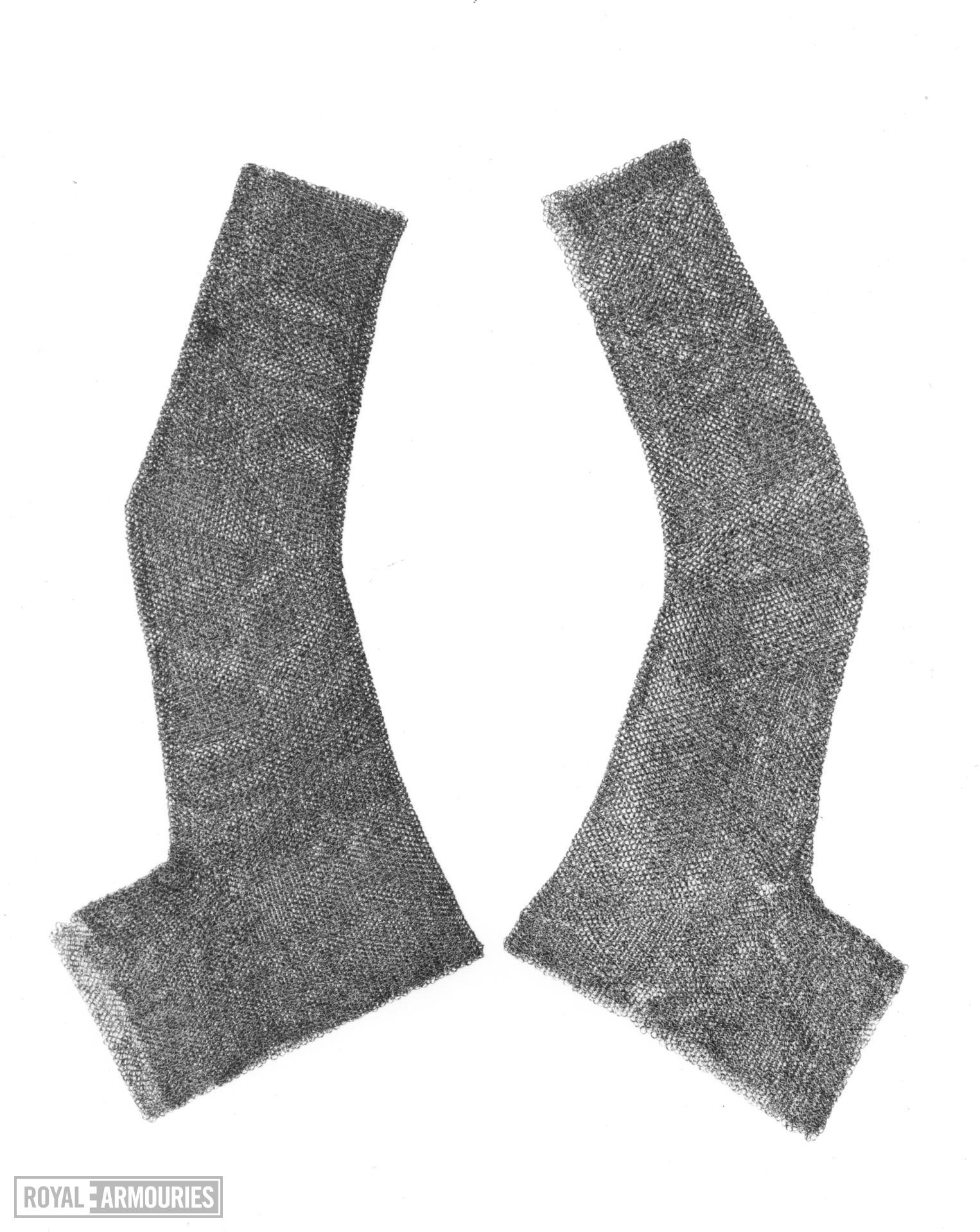 Mail sleeve Pair to III.1428.  Mounted with II.358.