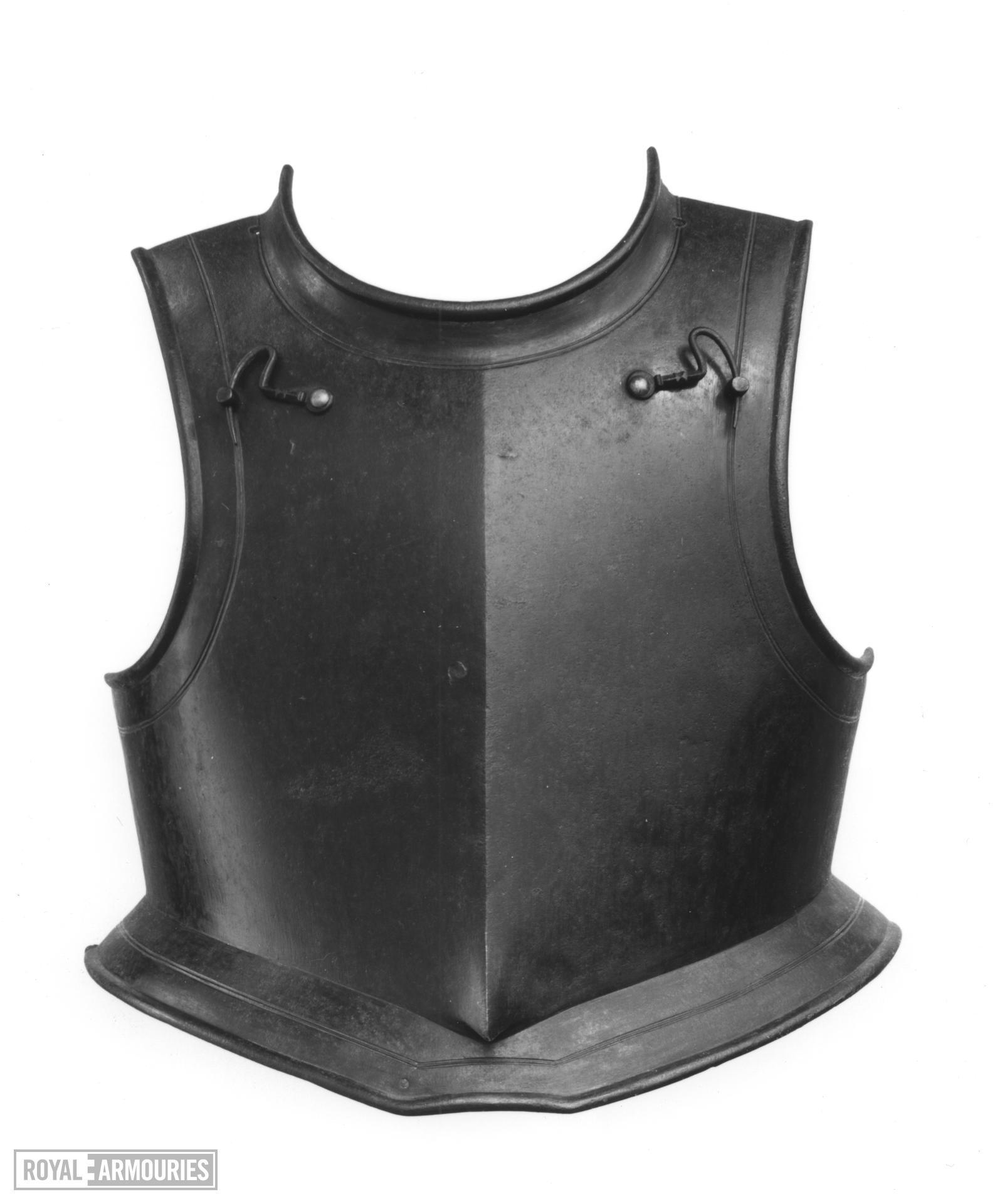 Breastplate Harquebusier's breastplate