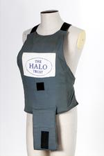 Thumbnail image of Apron body armour Of the type worn by Diana, Princess of Wales,  in Angola in January 1997