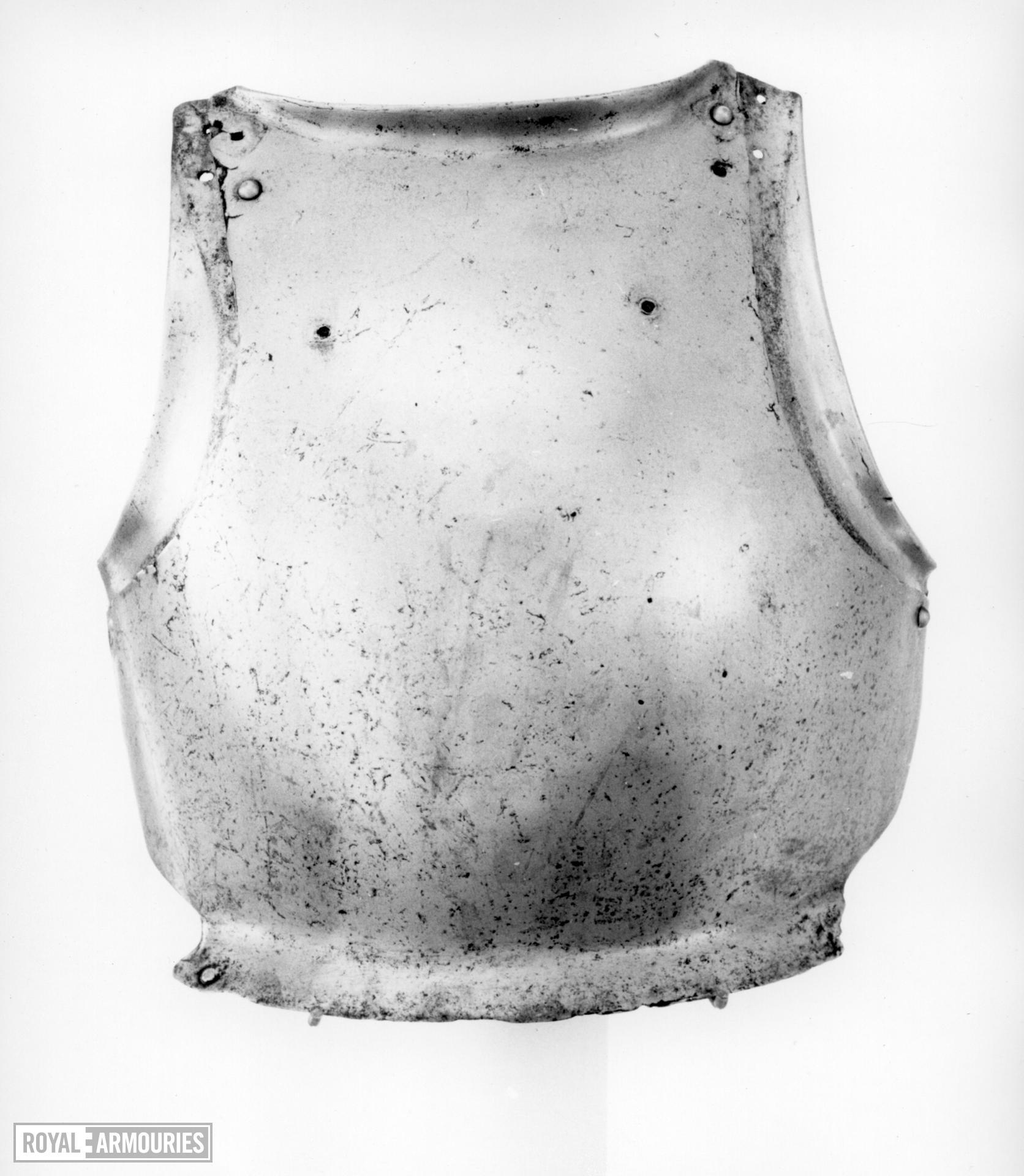 Breastplate From an Almain rivet