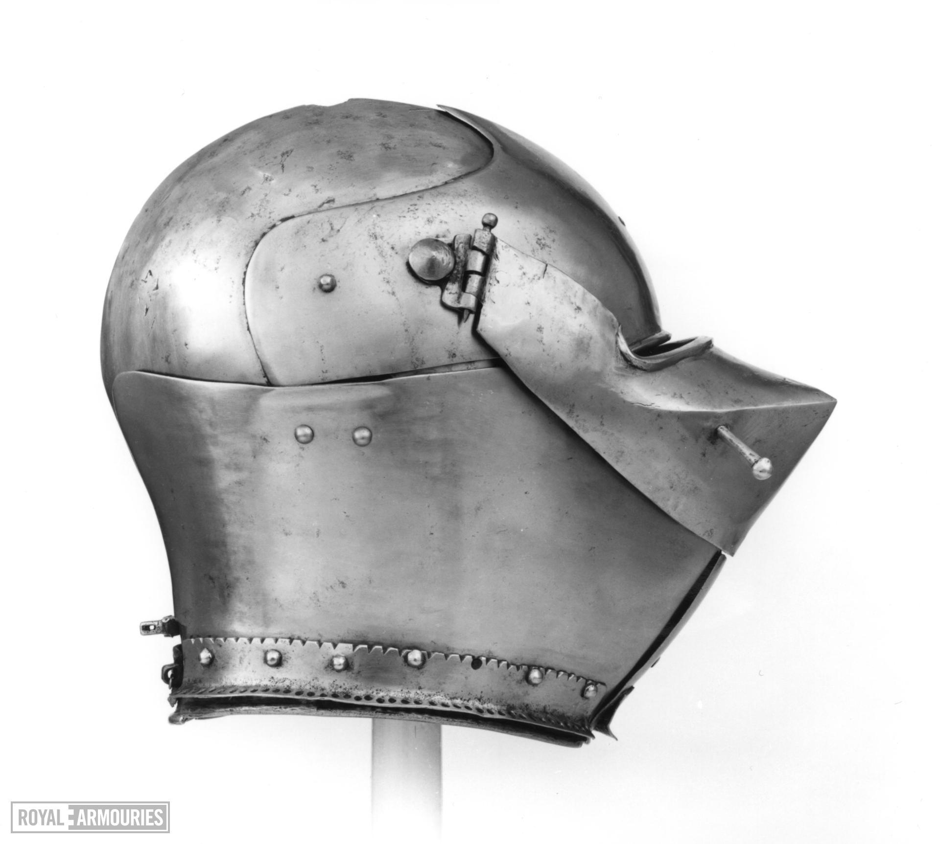 Armet Attributed to Giovanni Antonio delle Fibie