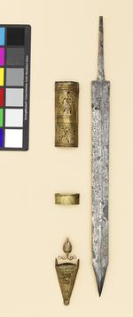 Thumbnail image of Blade Gladius blade of the 'Pompeii' type, from the Alex Guttmann collection.
